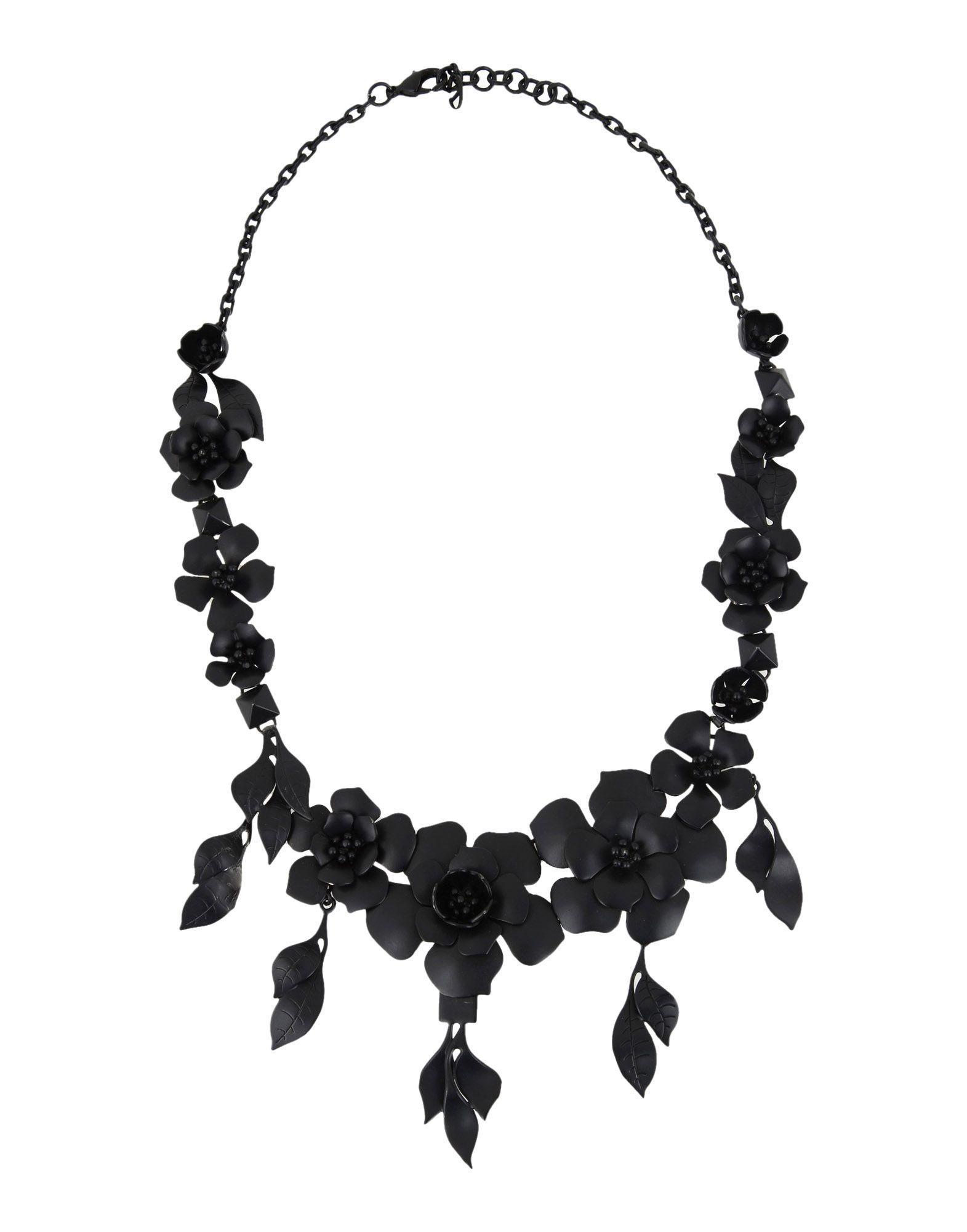 Valentino Necklace In Black