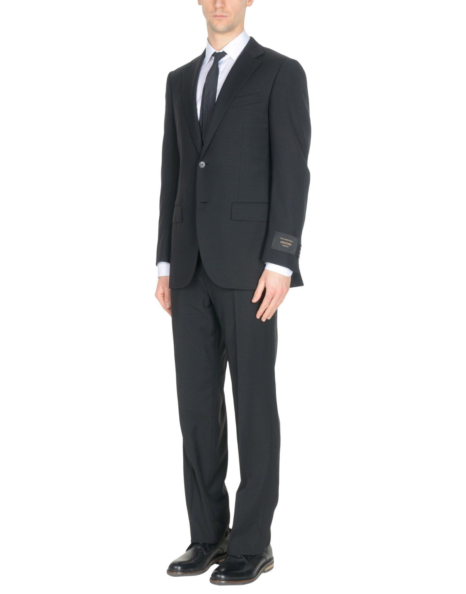 Ermenegildo Zegna Suits In Black