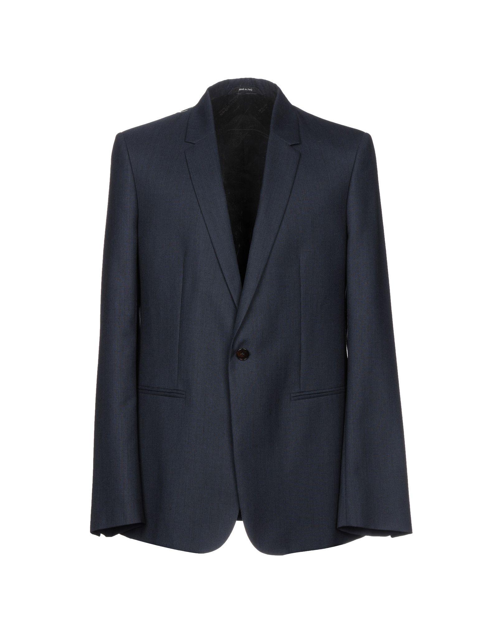Maison Margiela Blazers In Dark Blue