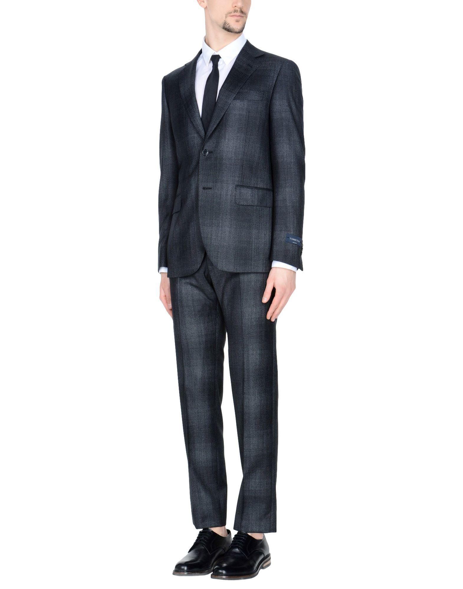 Tombolini Suits In Steel Grey
