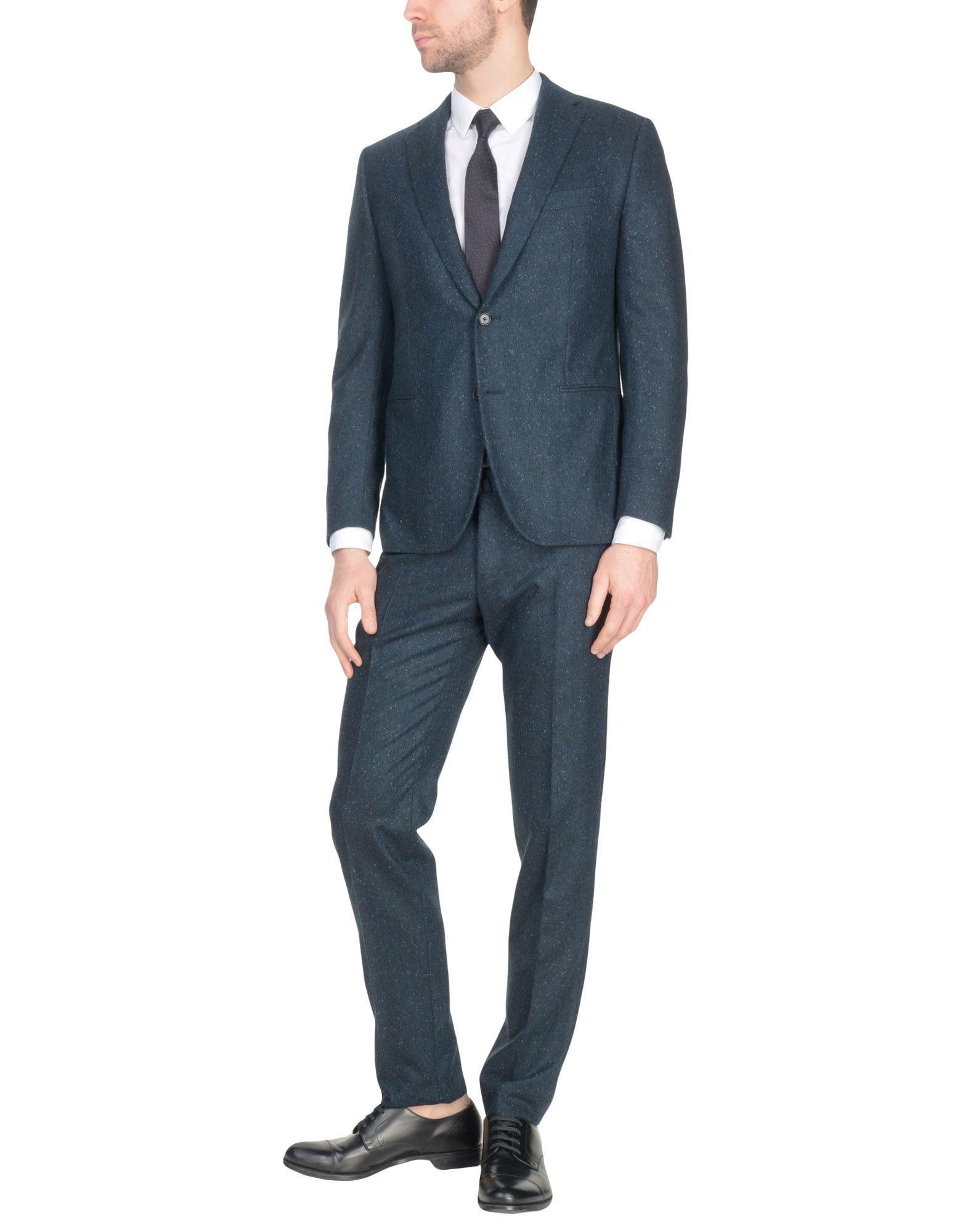 Caruso Suits In Dark Blue