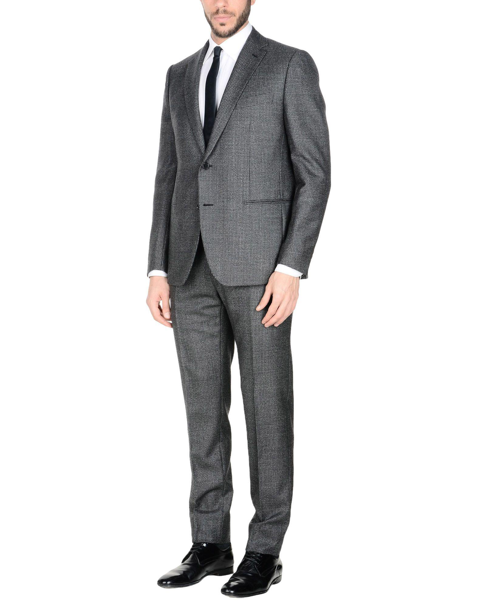 Caruso Suits In Grey