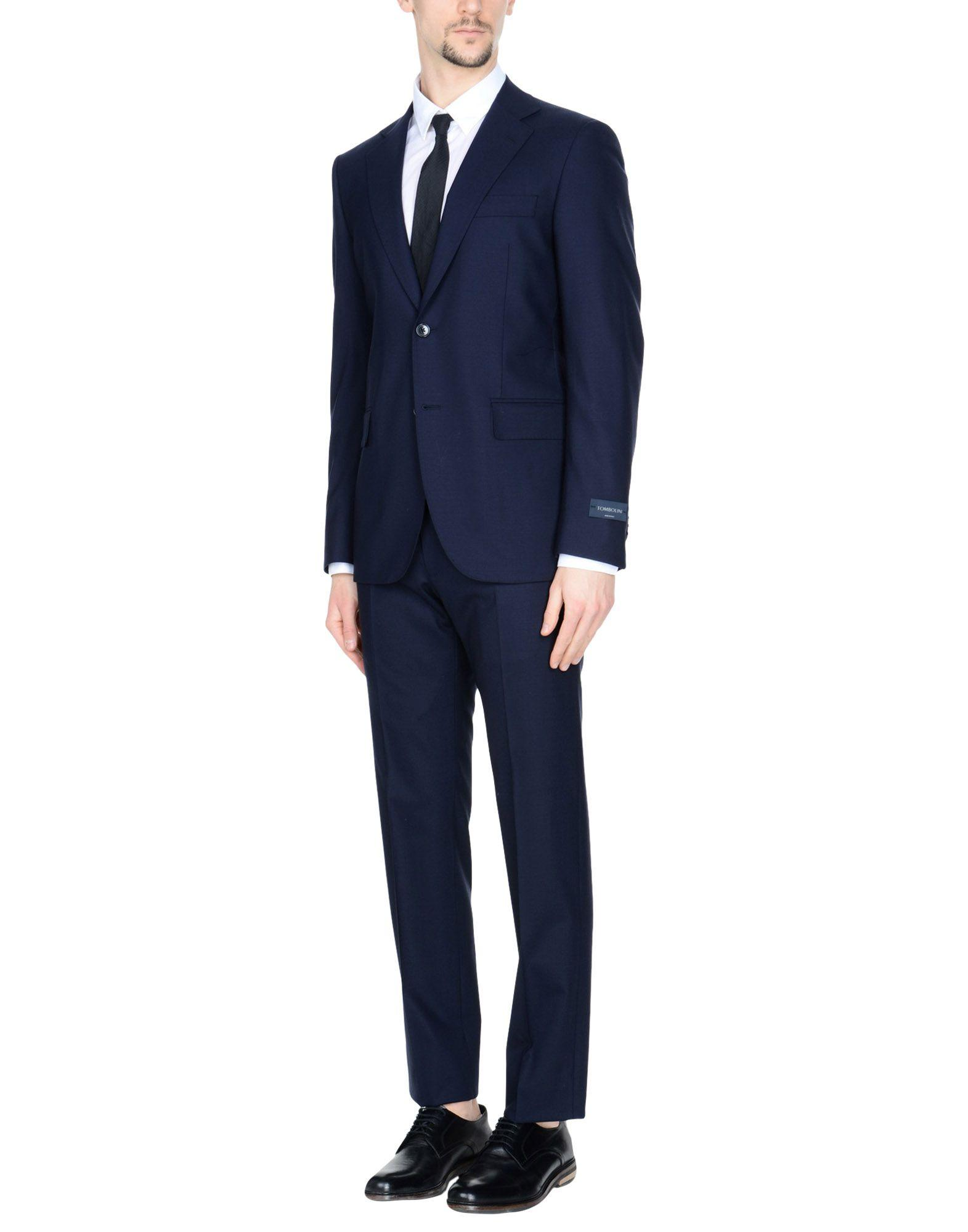 Tombolini Suits In Dark Blue