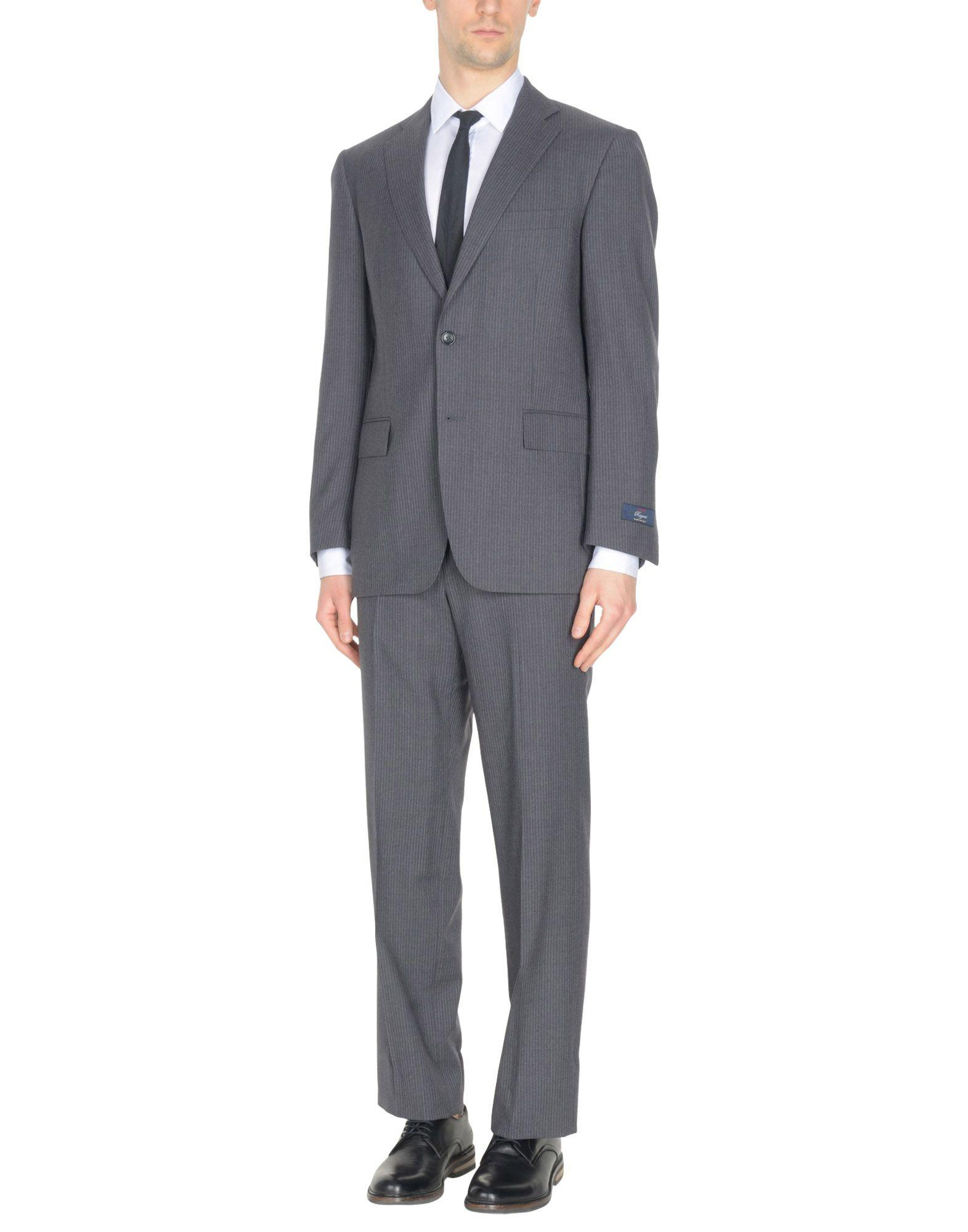 Brooks Brothers Suits In Steel Grey