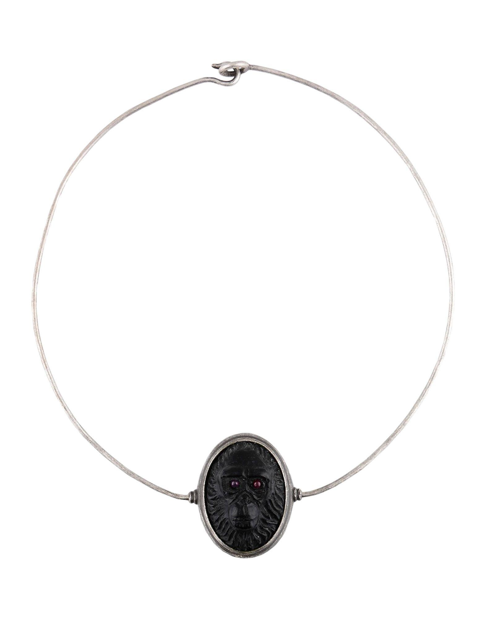Valentino Necklaces In Silver