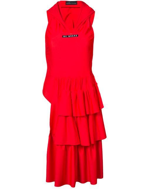 Barbara Bologna Be Brave Swim Dress In Red