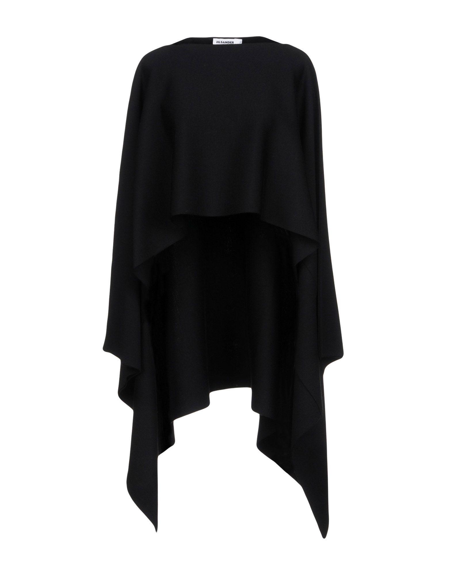 Jil Sander Cape In Black