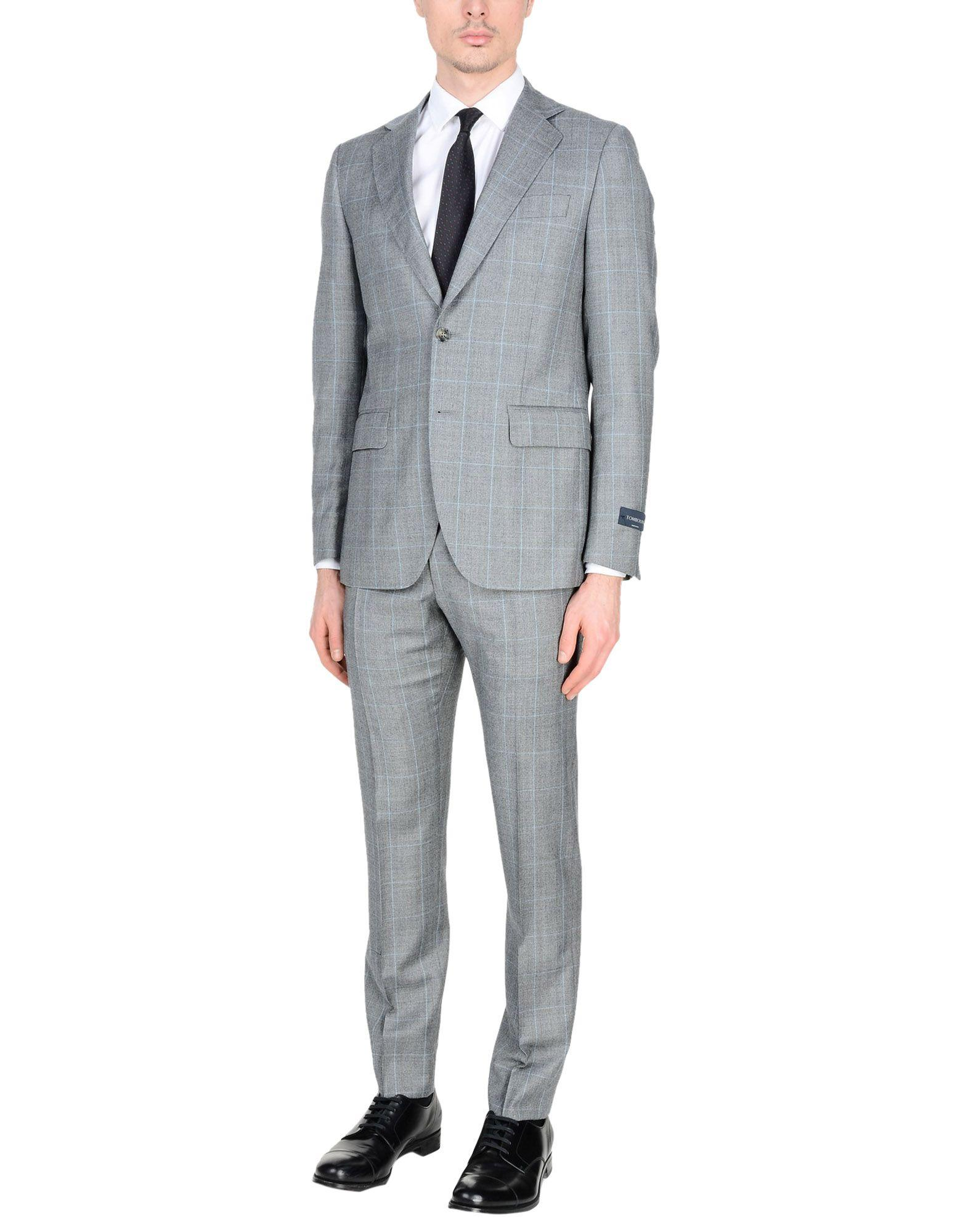 Tombolini Suits In Grey