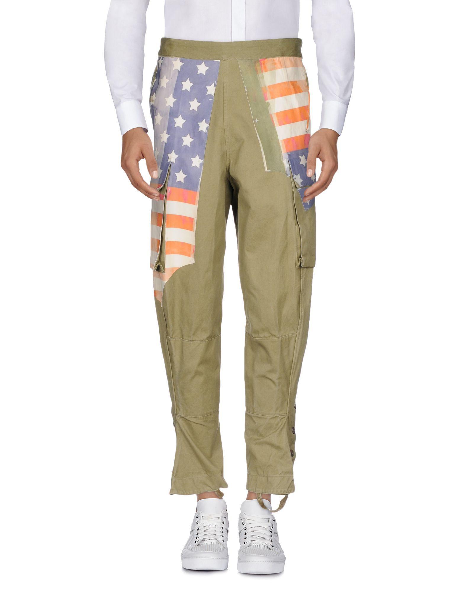 Pihakapi Casual Pants In Military Green