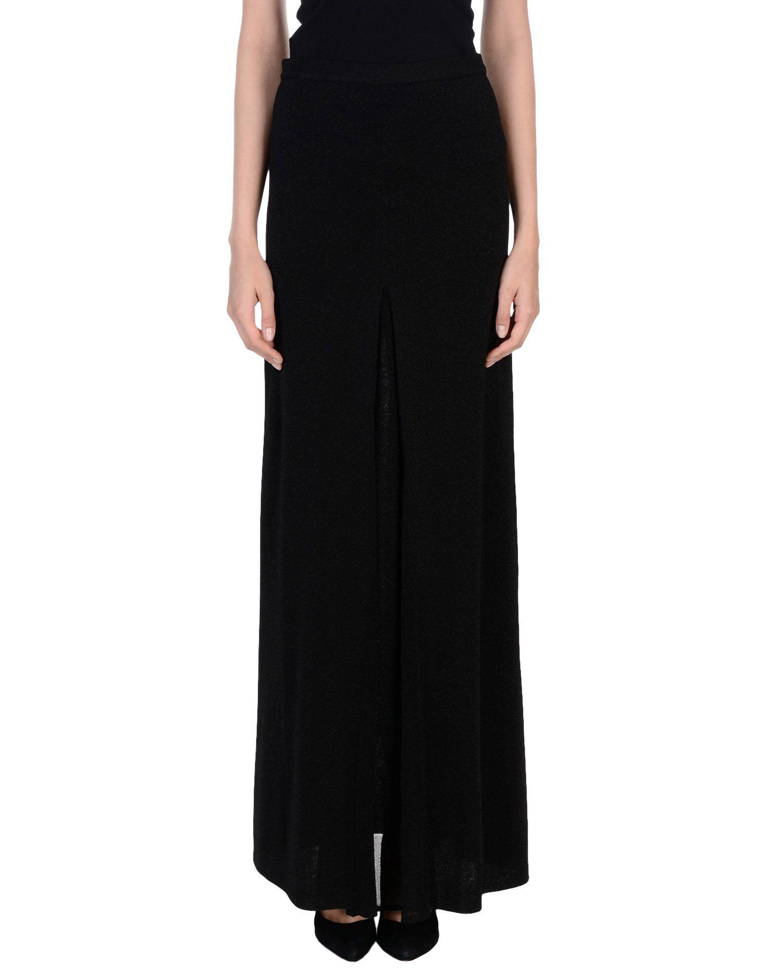 Missoni Long Skirts In Black