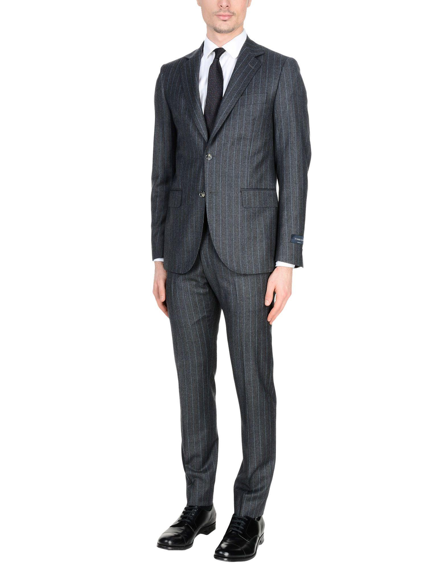 Tombolini Suits In Lead