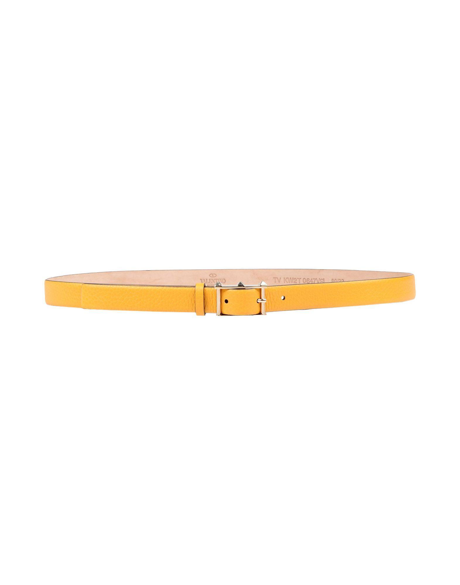 Valentino Belts In Orange