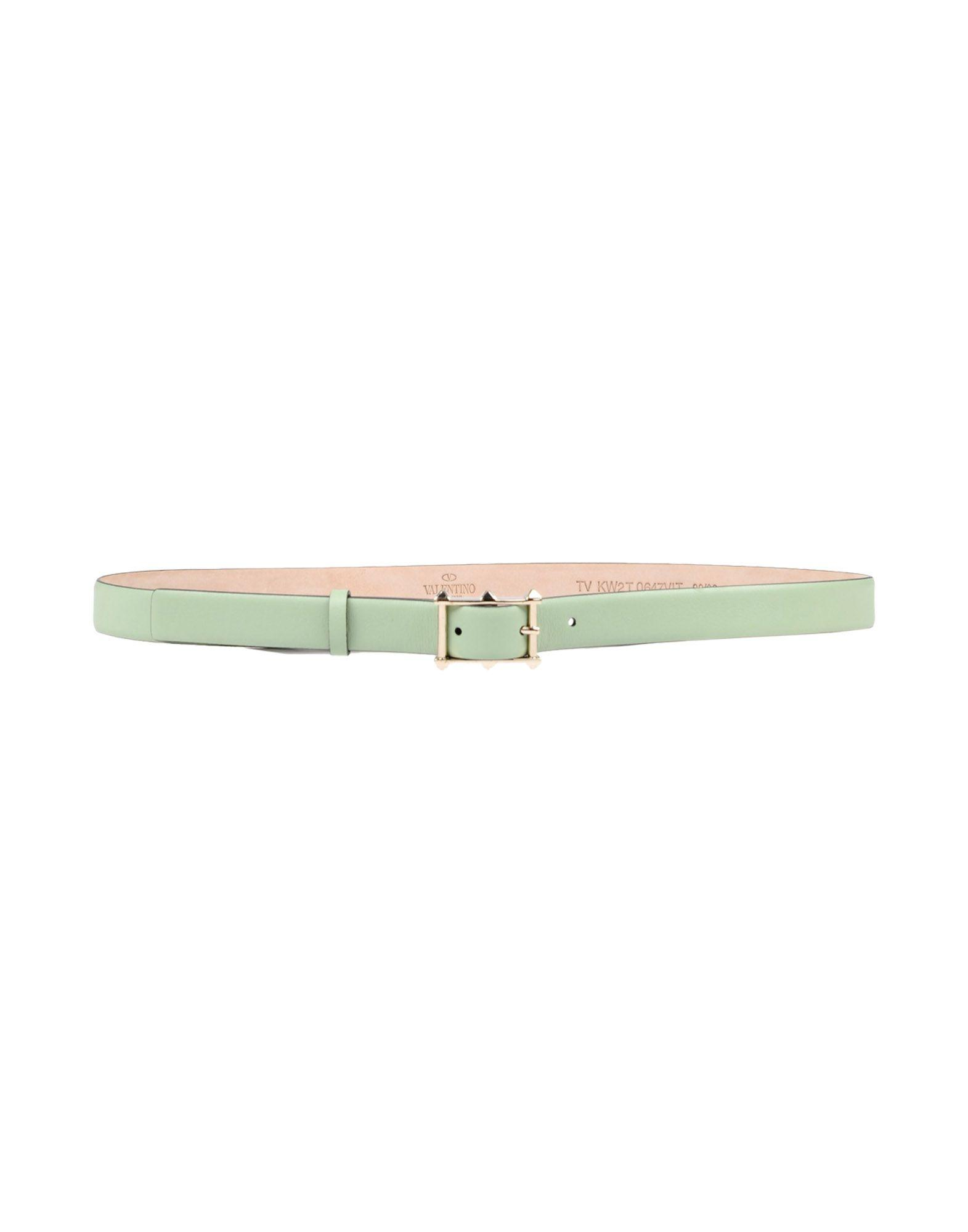 Valentino Belts In Light Green