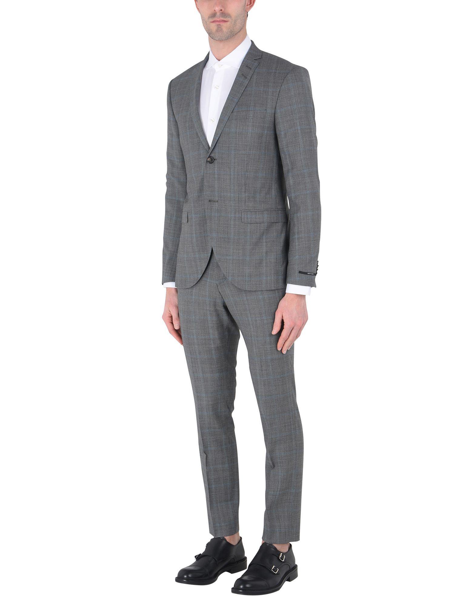 Tiger Of Sweden Suits In Grey