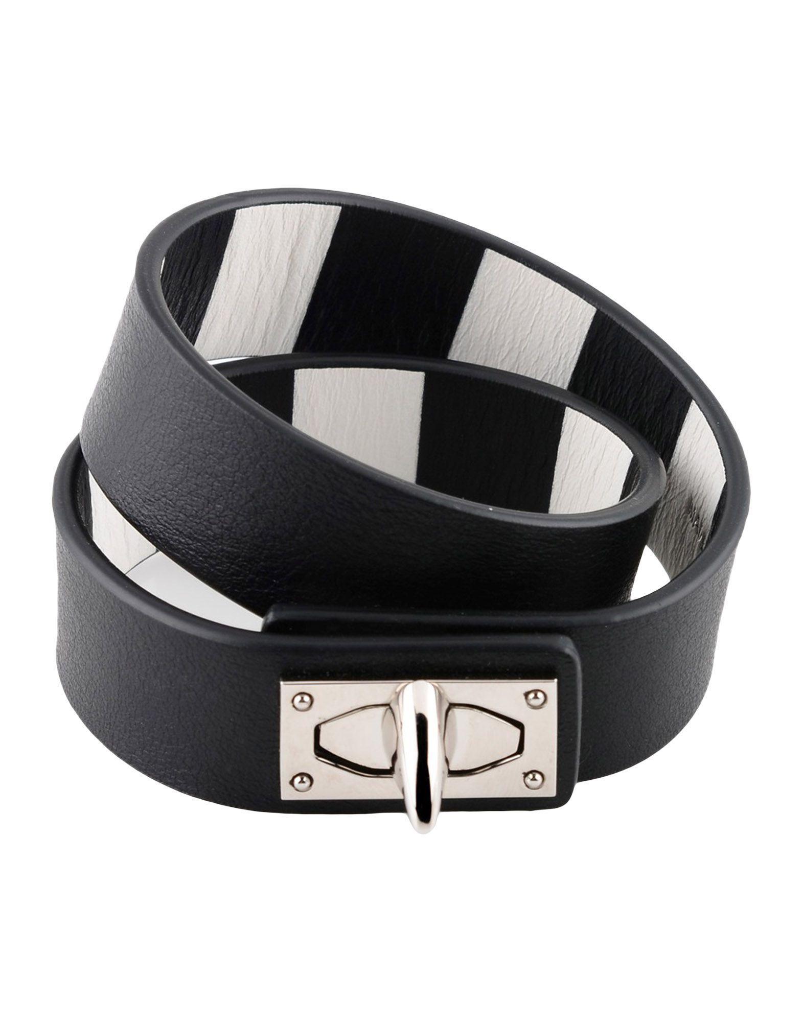 Givenchy Bracelets In Black