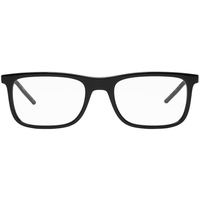 Dolce & Gabbana Dolce And Gabbana Black Square Glasses In 501
