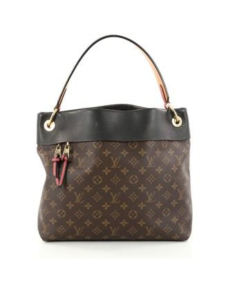 Louis Vuitton Pre-owned: Tuileries Hobo Monogram Canvas With Leather In Brown