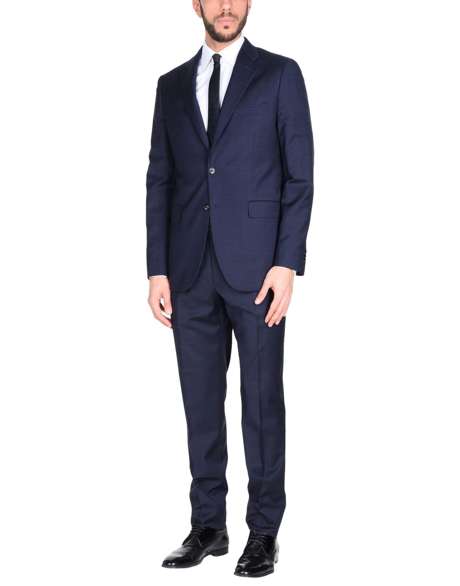 Boglioli Suits In Dark Blue