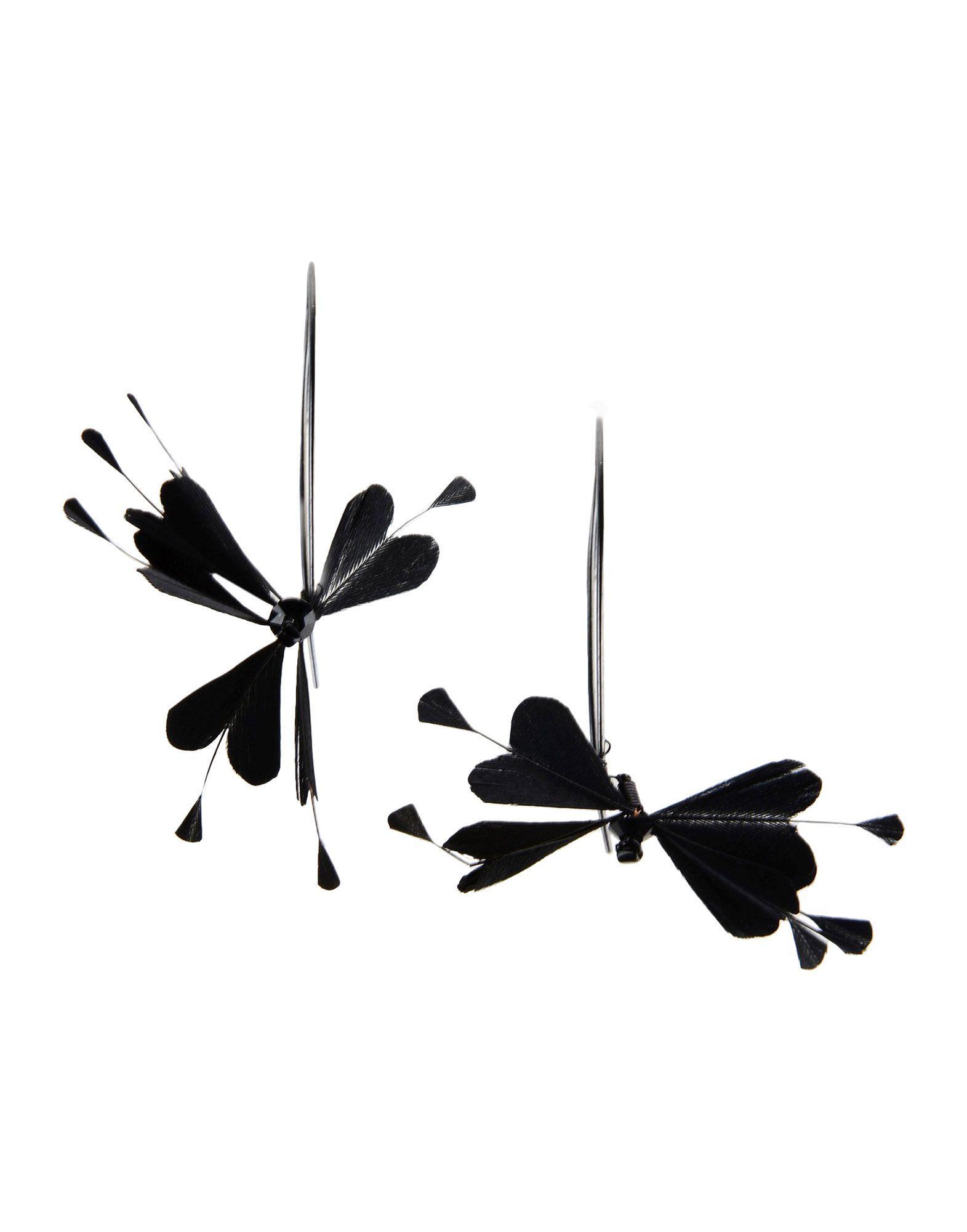 Valentino Earrings In Black