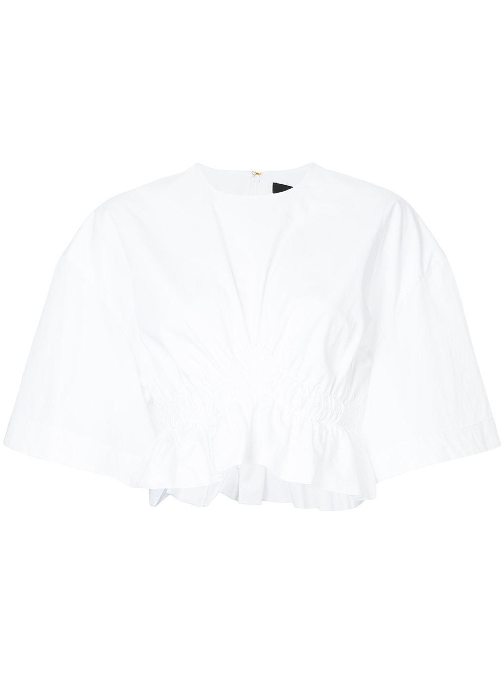 Ellery Close Encounters Cropped Shirt