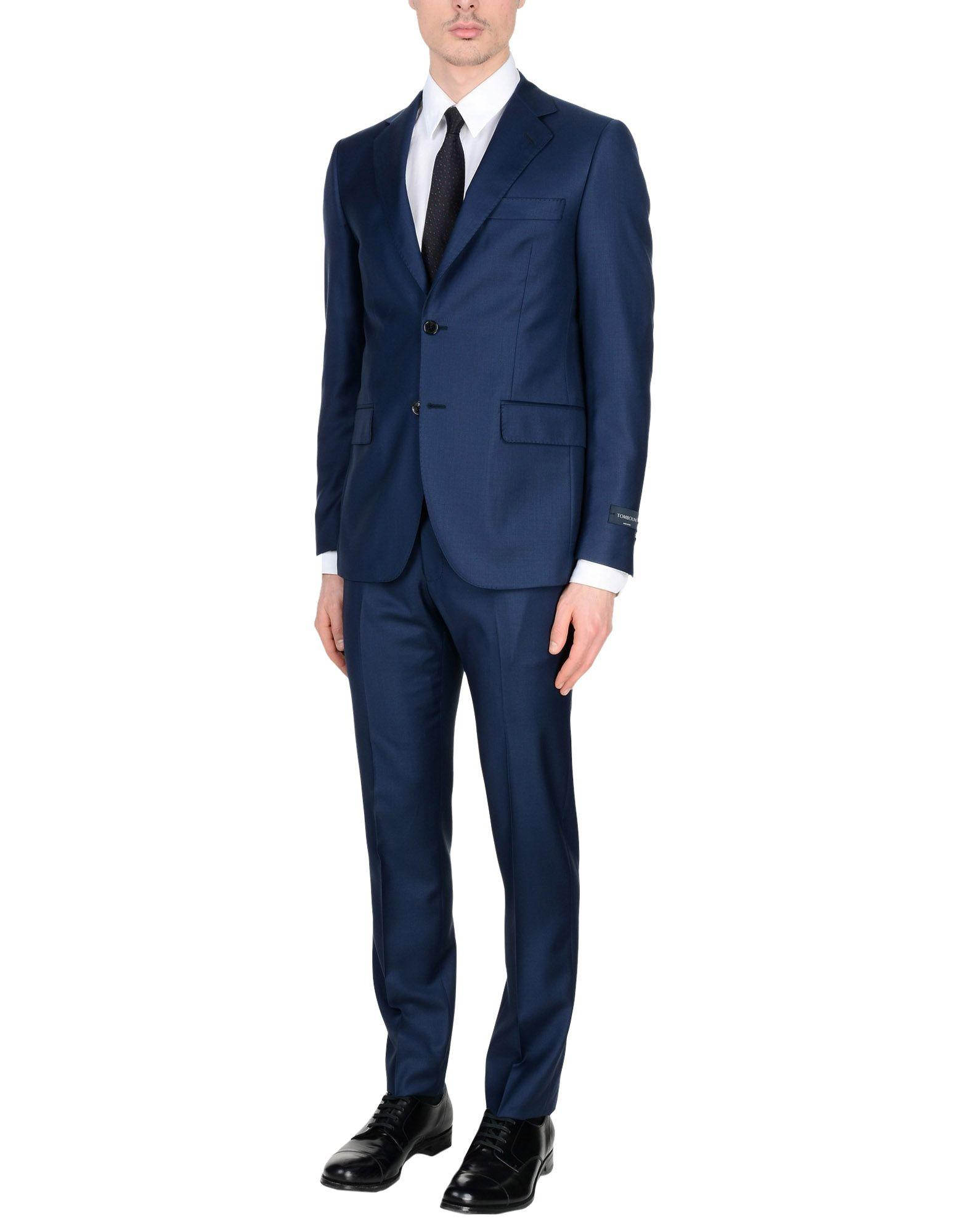 Tombolini Suits In Blue