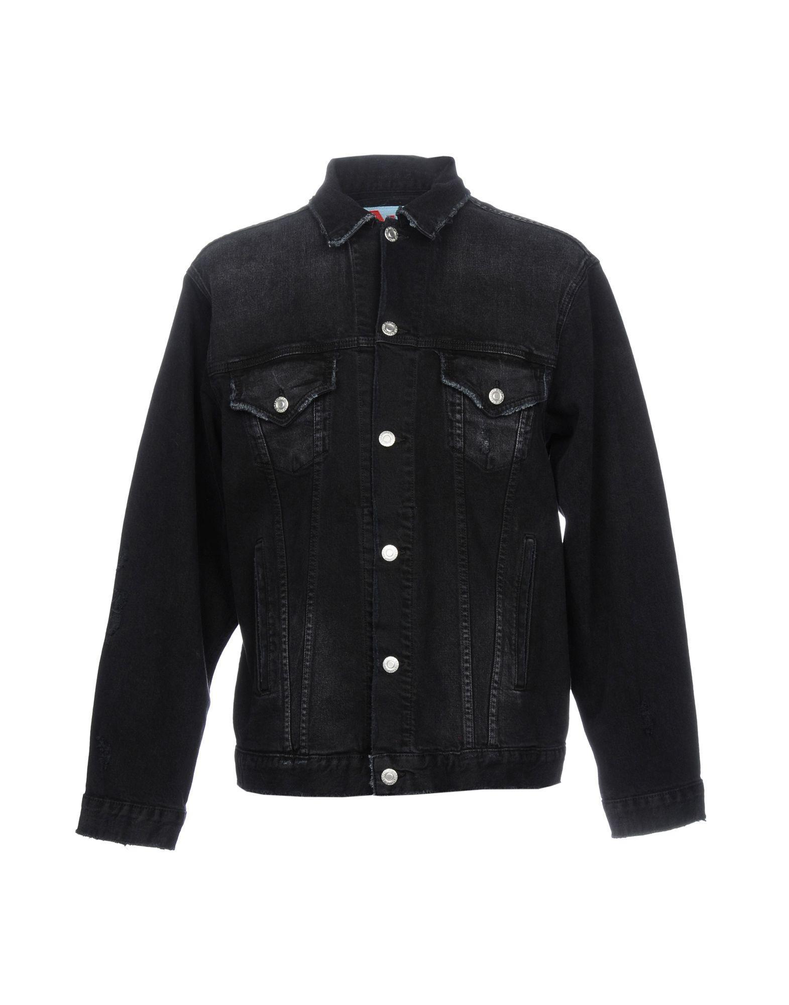 Adaptation Denim Jacket In Black