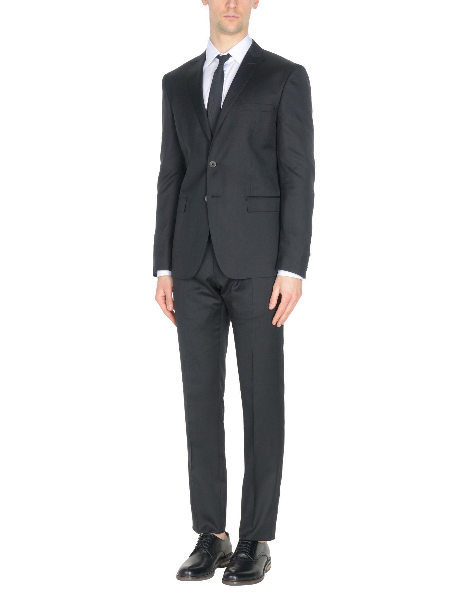 Tonello Suits In Black