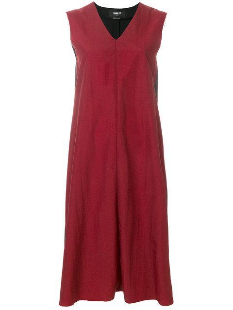 Yang Li V-neck Dress - Black