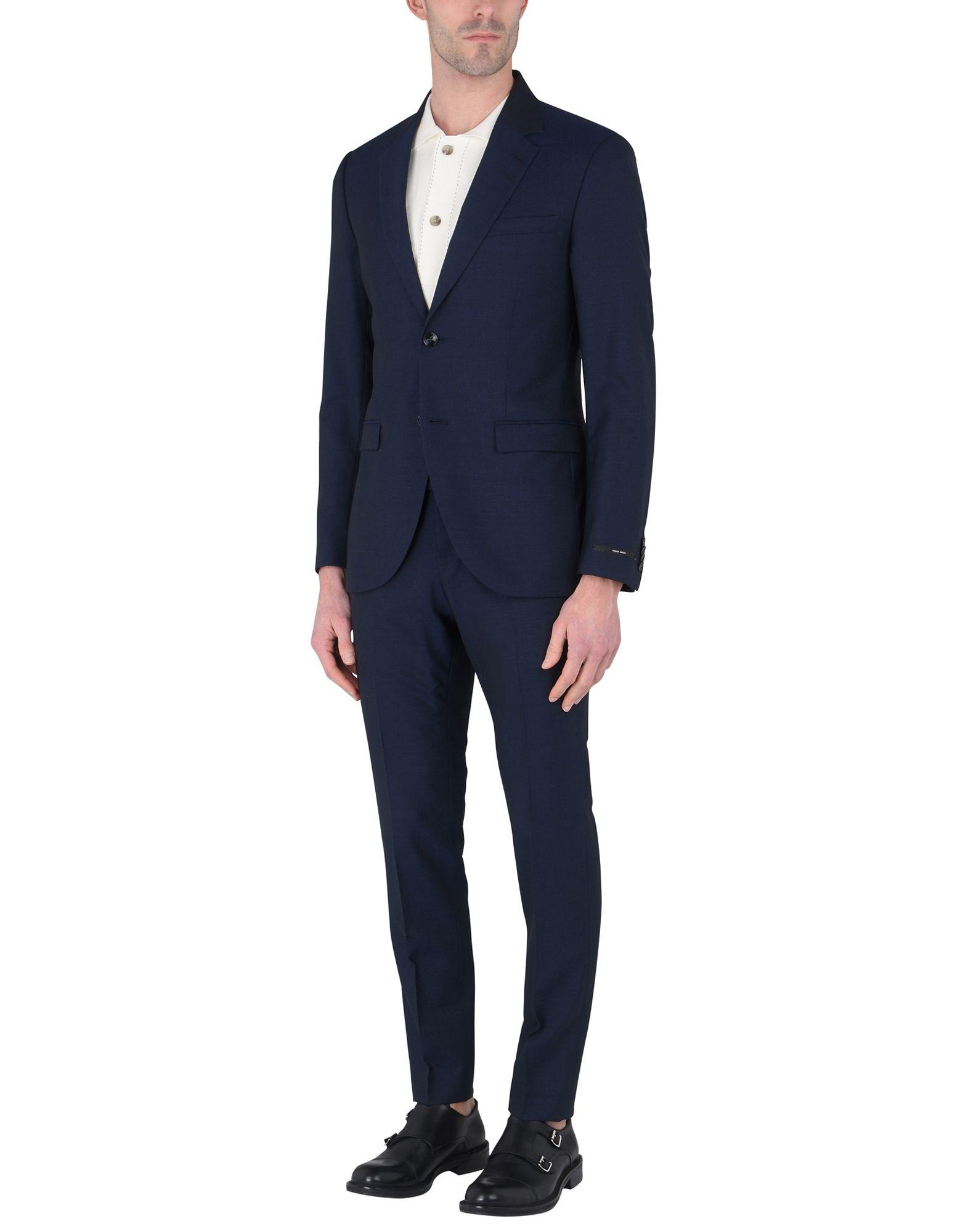 Tiger Of Sweden Suits In Dark Blue