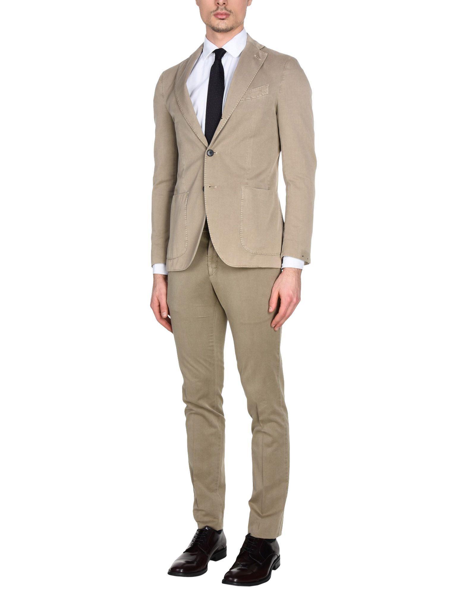 Lardini Suits In Beige