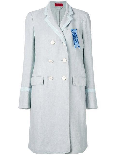 The Gigi Vintage Style Buttoned Coat