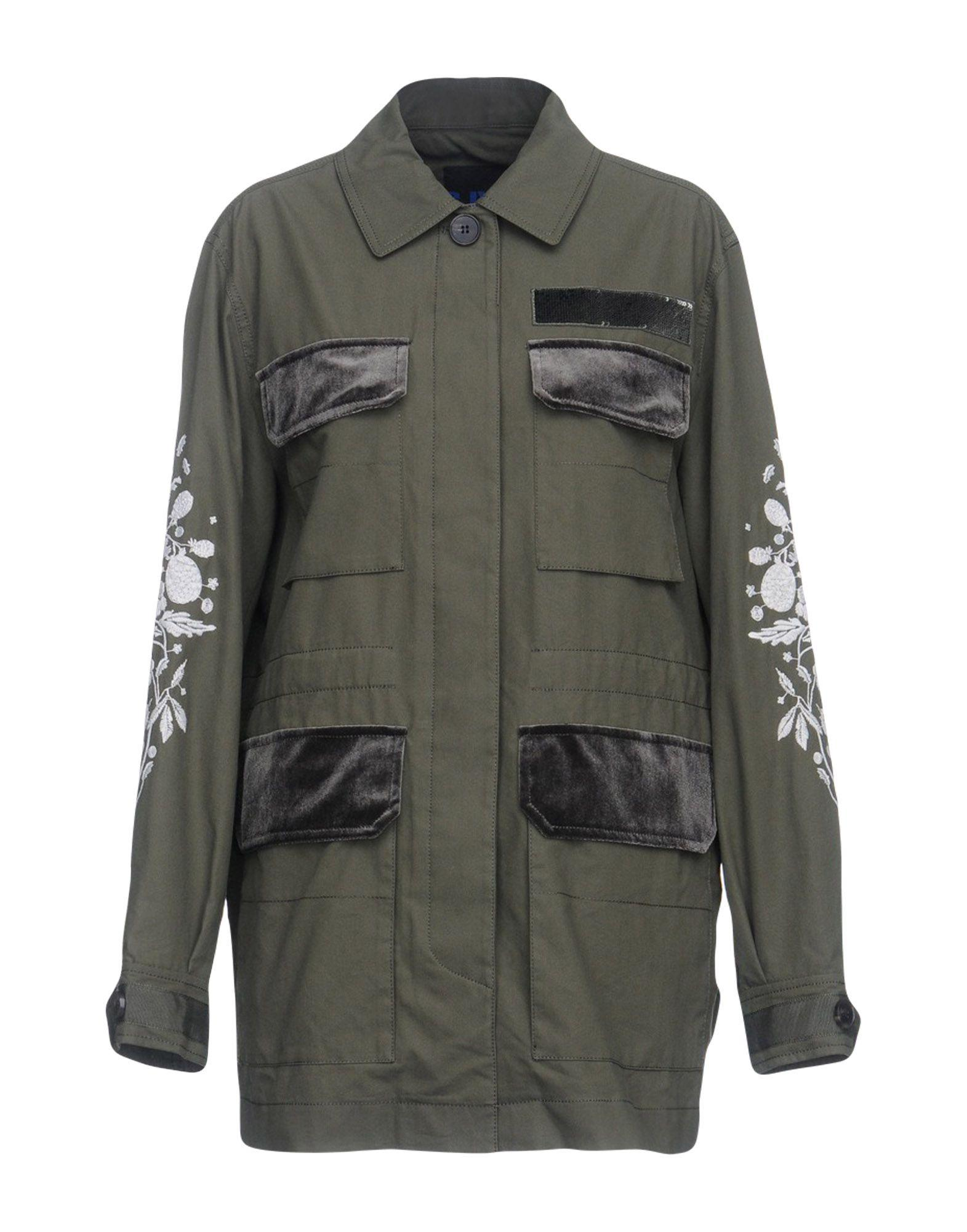 Sjyp Jacket In Military Green