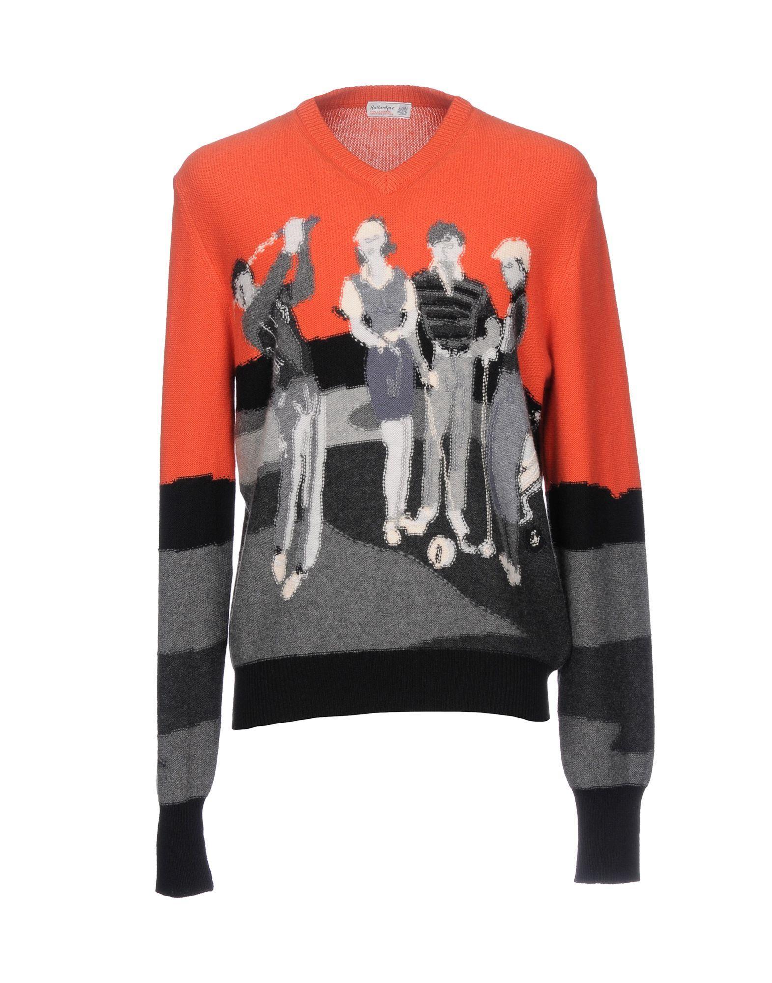 Ballantyne Sweaters In Orange