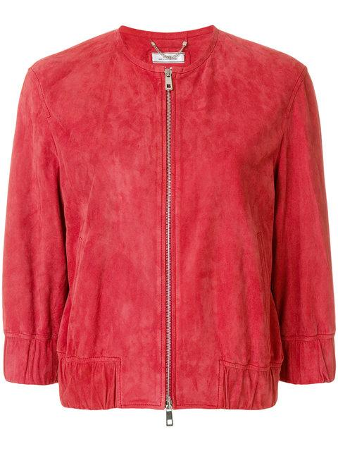 Desa Collection Bomber Jacket - Red