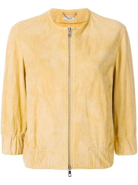Desa Collection Bomber Jacket In Yellow