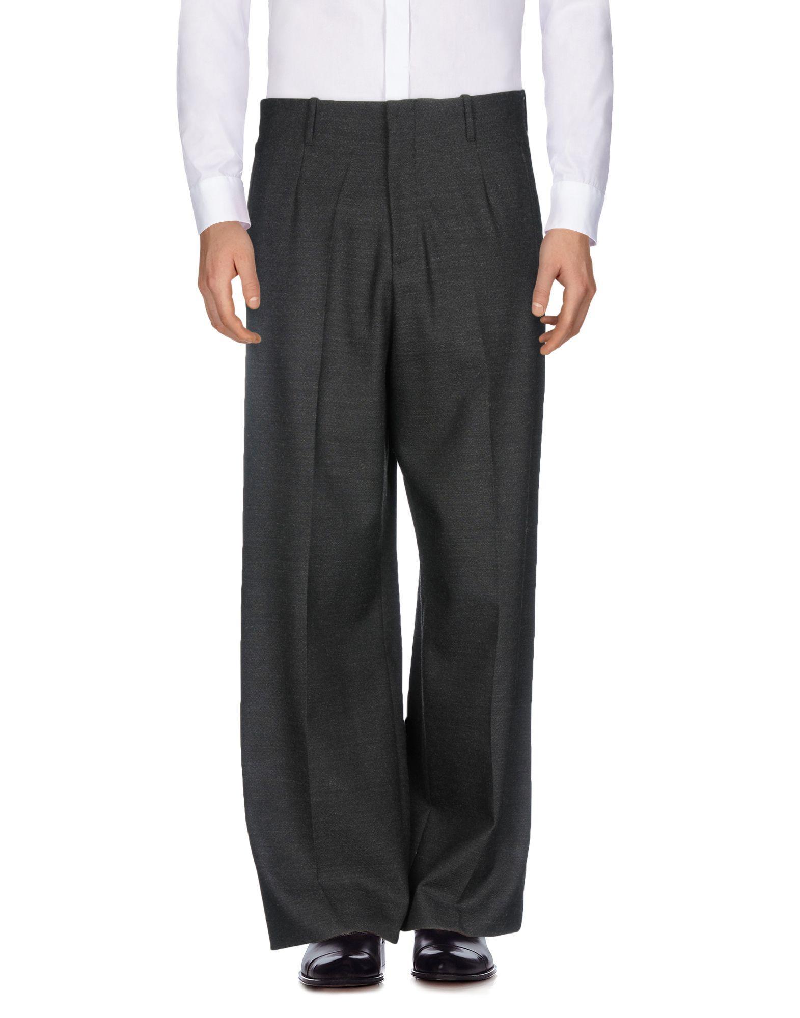 Umit Benan Casual Pants In Steel Grey