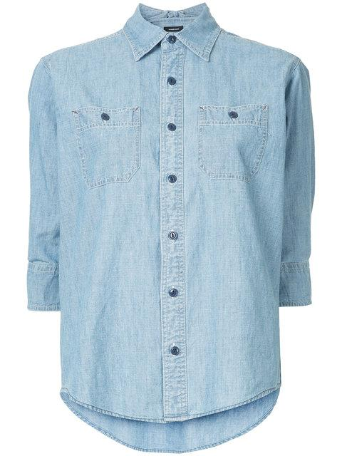 R13 Denim Shirt - Blue