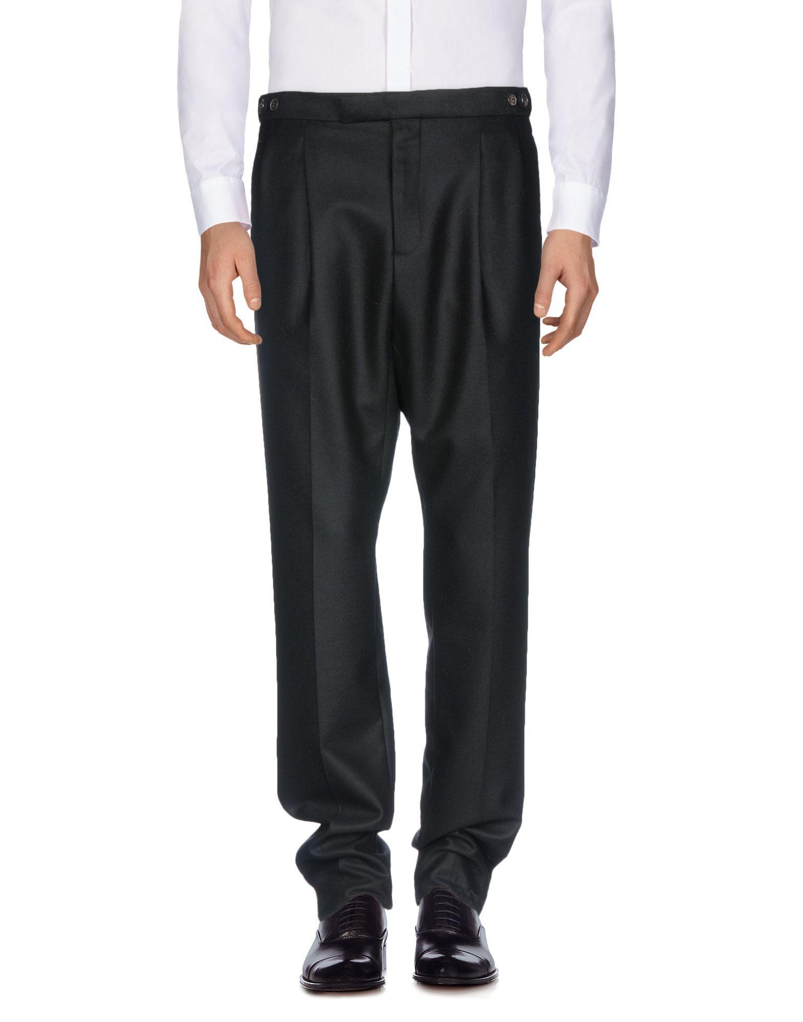 Umit Benan Casual Pants In Black