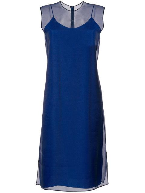 Demoo Parkchoonmoo Flared Midi Dress - Blue