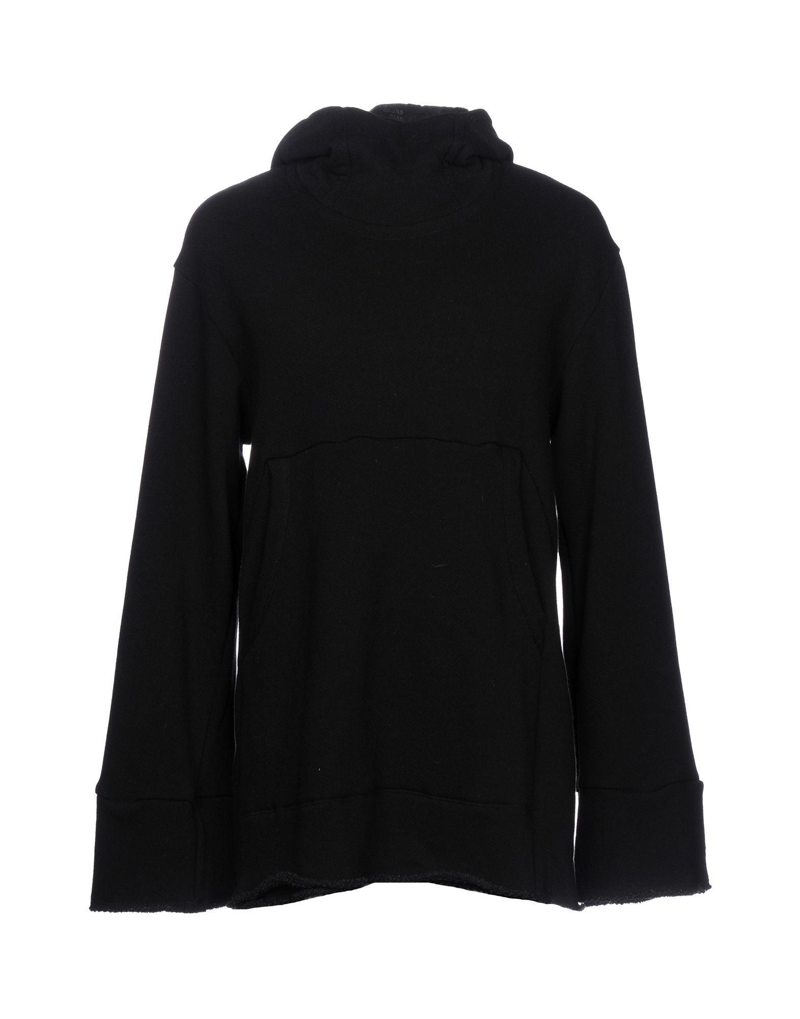 Lost & Found Hooded Sweatshirt In Black