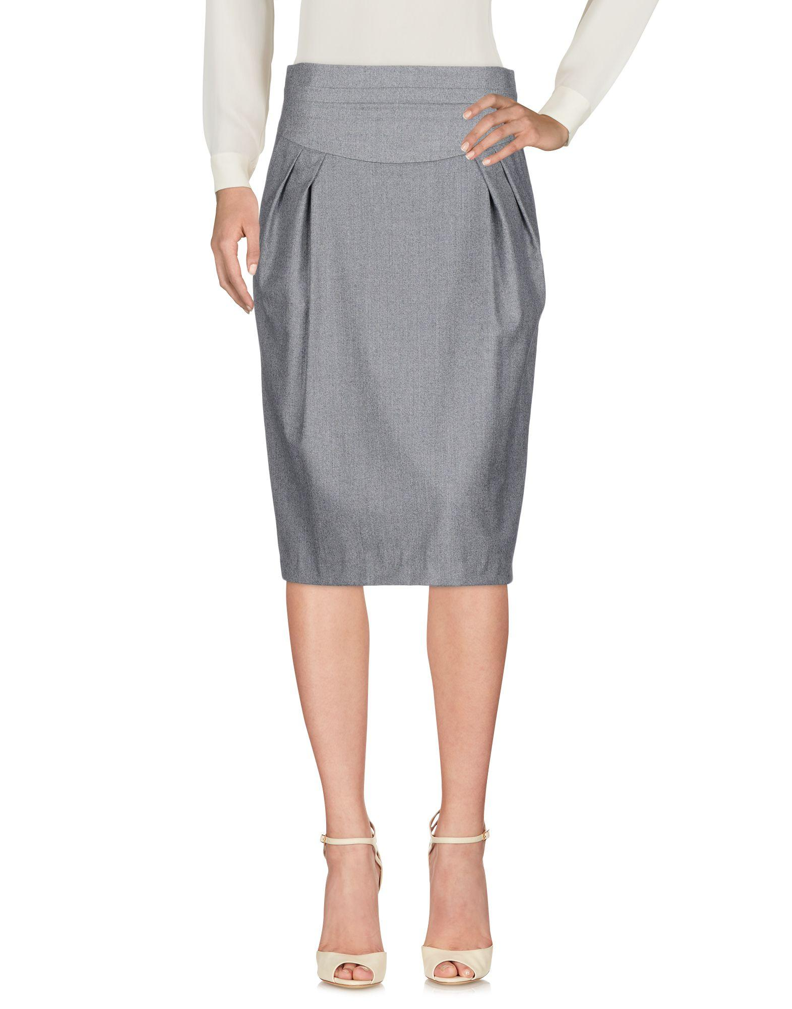 Paul Smith 3/4 Length Skirts In Grey