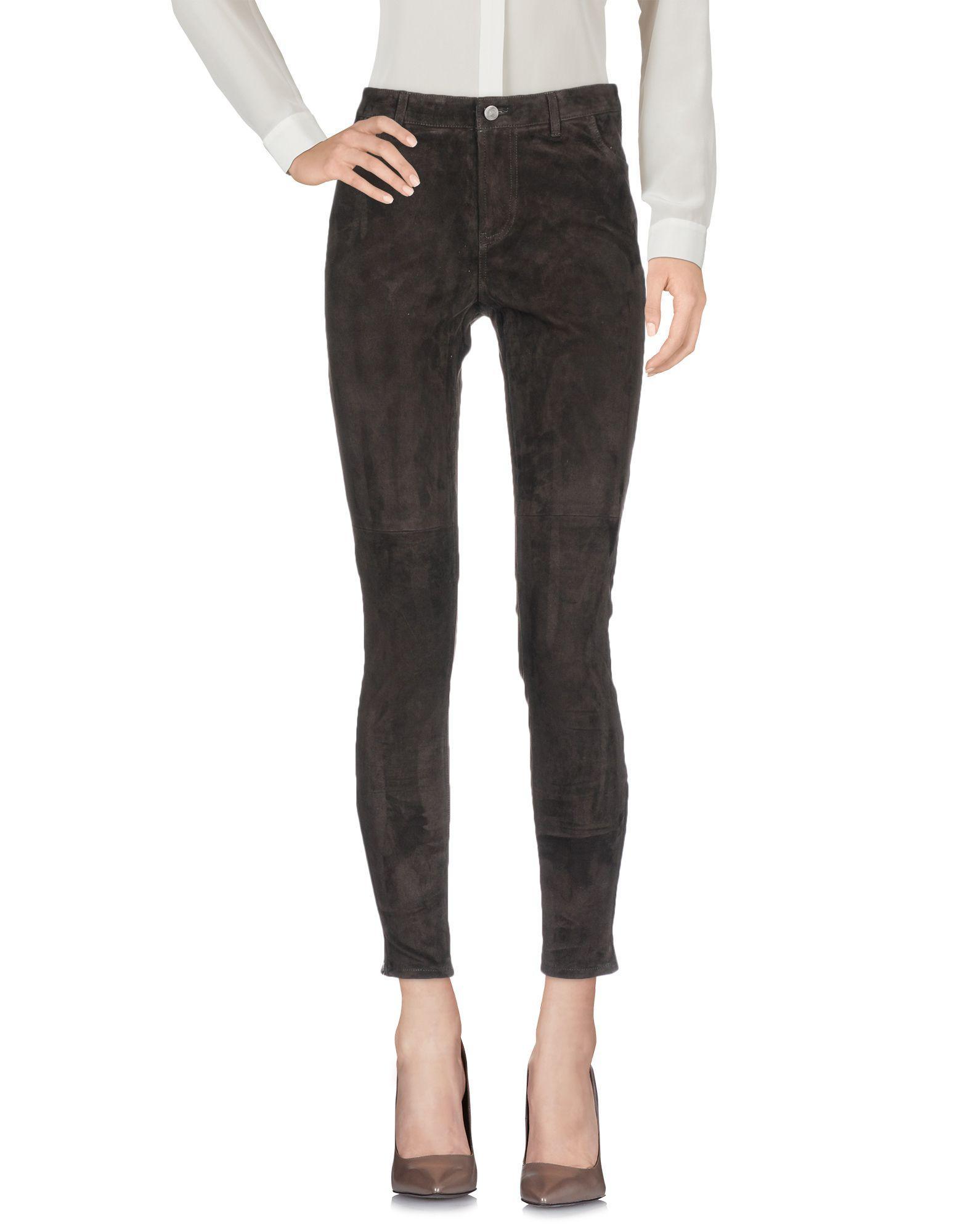 Rebecca Minkoff Casual Pants In Dark Brown