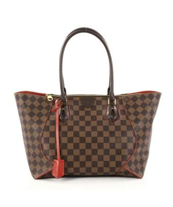Louis Vuitton Pre-owned: Caissa Tote Damier Mm In Brown