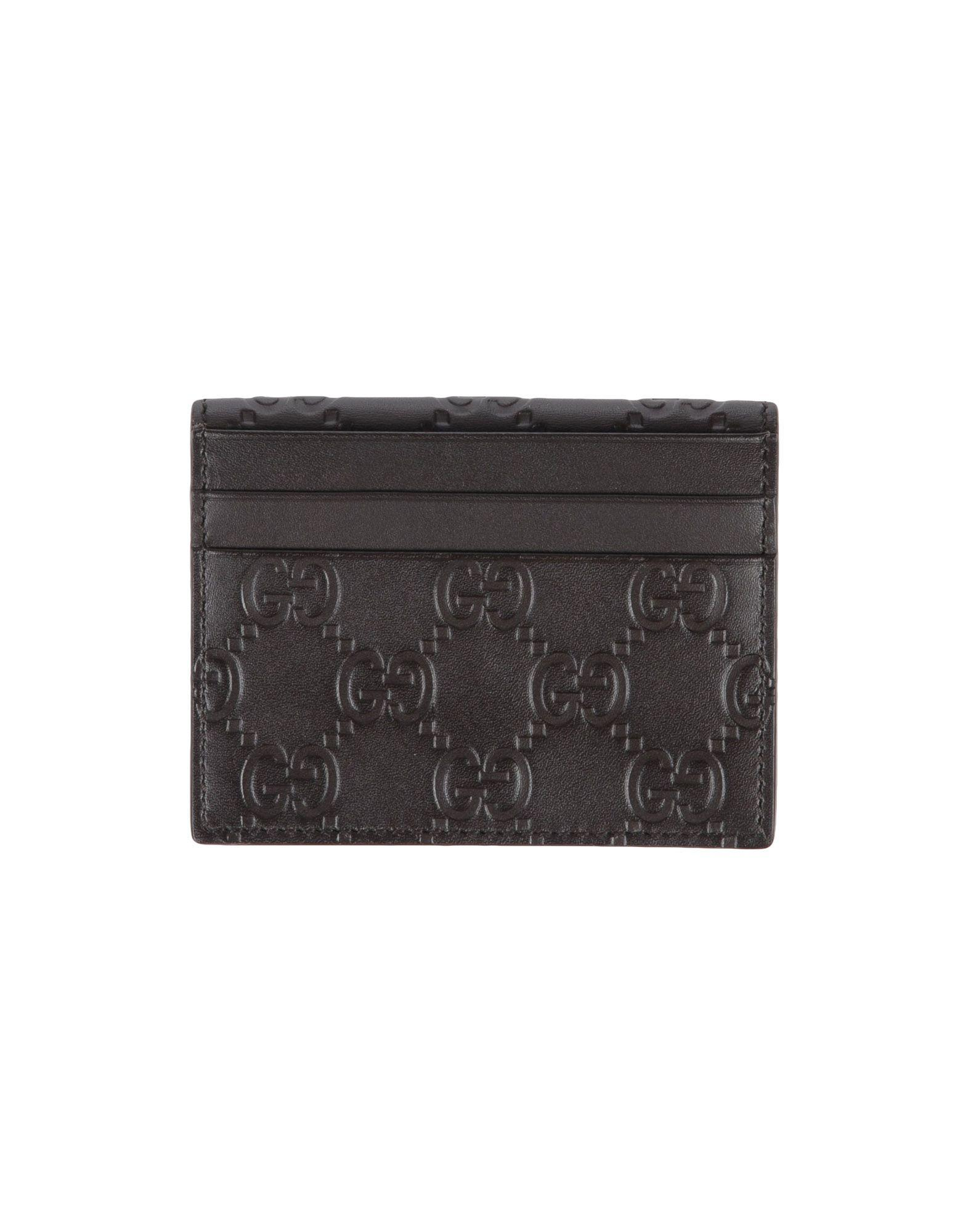 Gucci Document Holders In Dark Brown