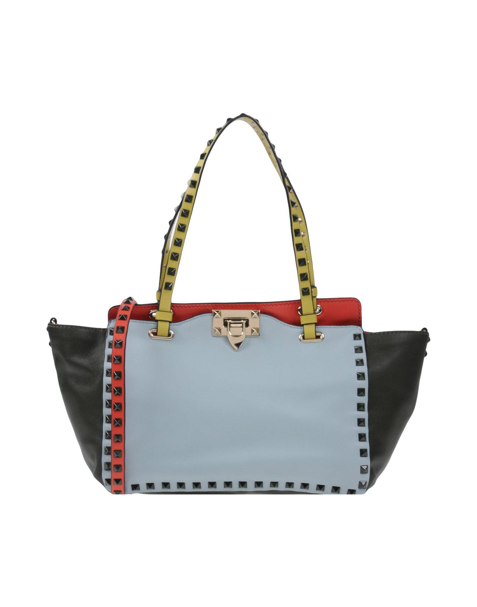 Valentino Handbags In Sky Blue