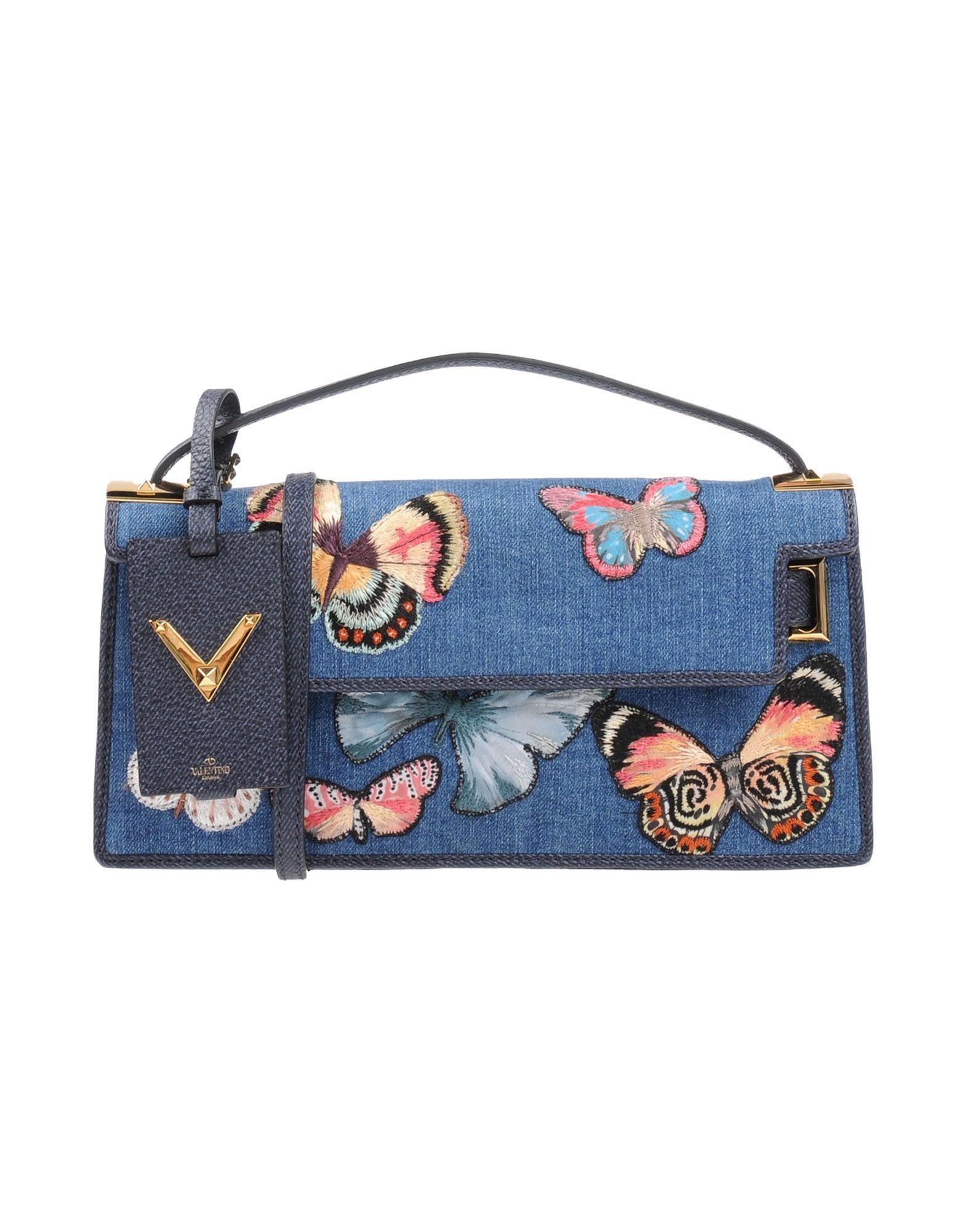 Valentino Handbags In Blue