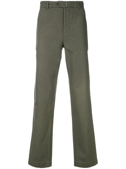 Officine Generale Slim Fit Trousers