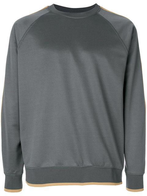 Stussy Logo Long-sleeve Sweatshirt - Grey