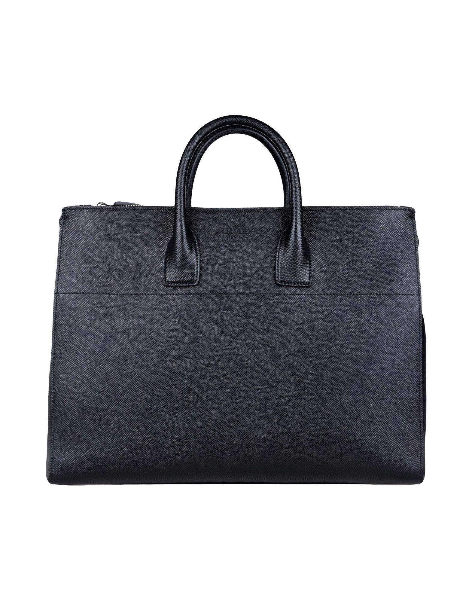 Prada Work Bag In Black