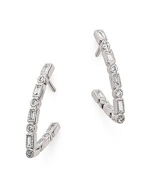 Bloomingdale's Diamond V-drop Earrings In 14k White Gold, 0.33 Ct. T.w. - 100% Exclusive